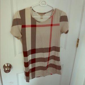 Burberry Brit classic plaid shirt